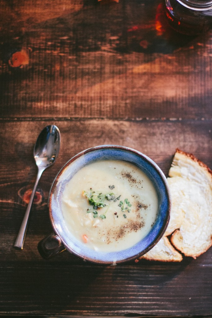 Creamy Turkey Soup: The Everyday Chef and Wife Blog