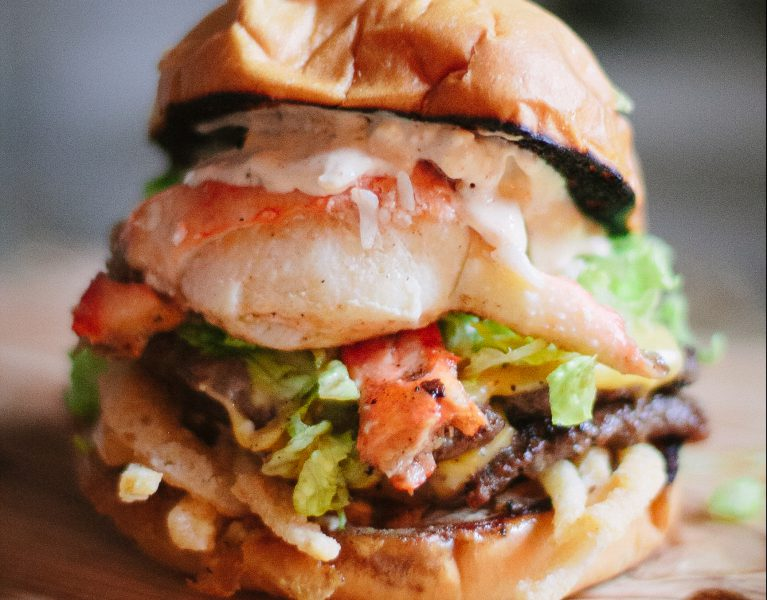 Ultimate burger with The Everyday Chef and Wife